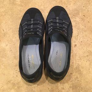 Skechers Navy Slip-On Sneakers